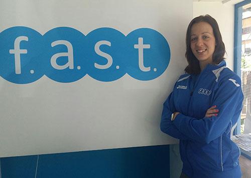 Entrenadora Macarena Fast Mostoles