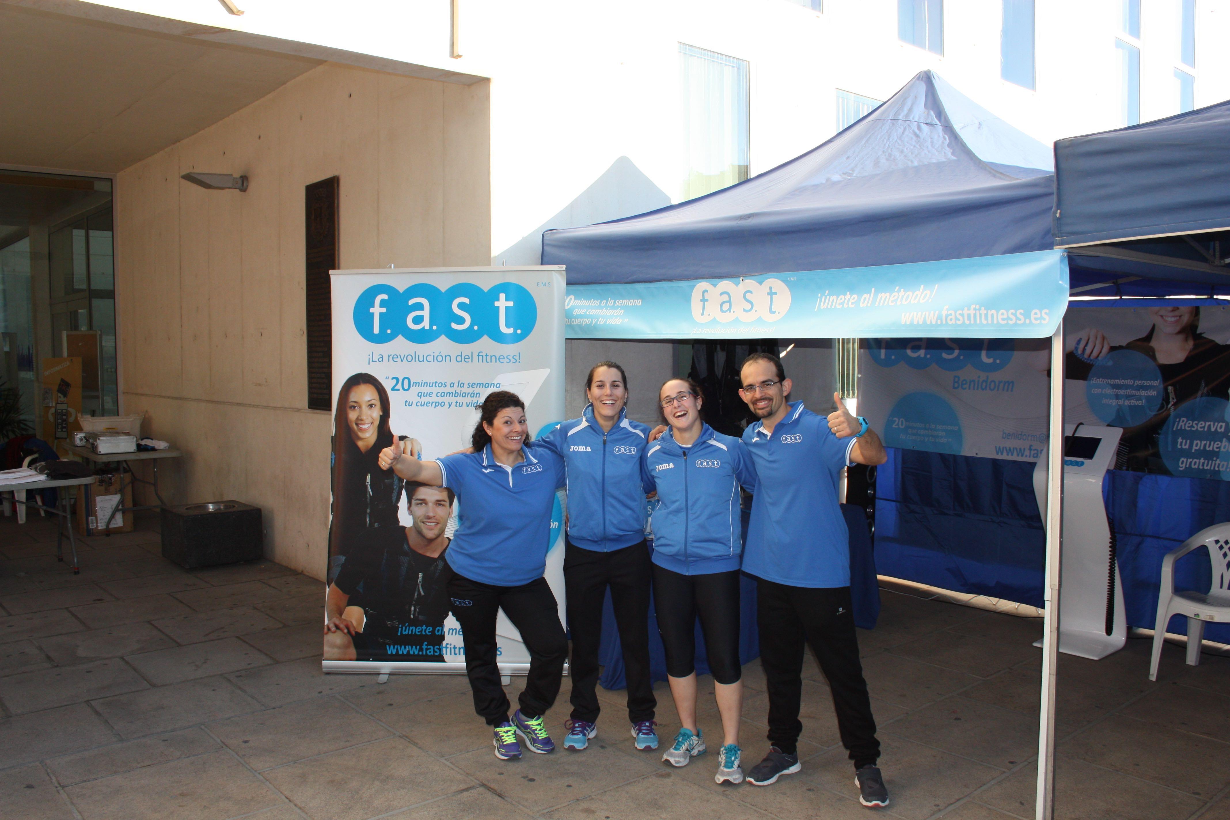 Equipo Fast Fitness Benidorm