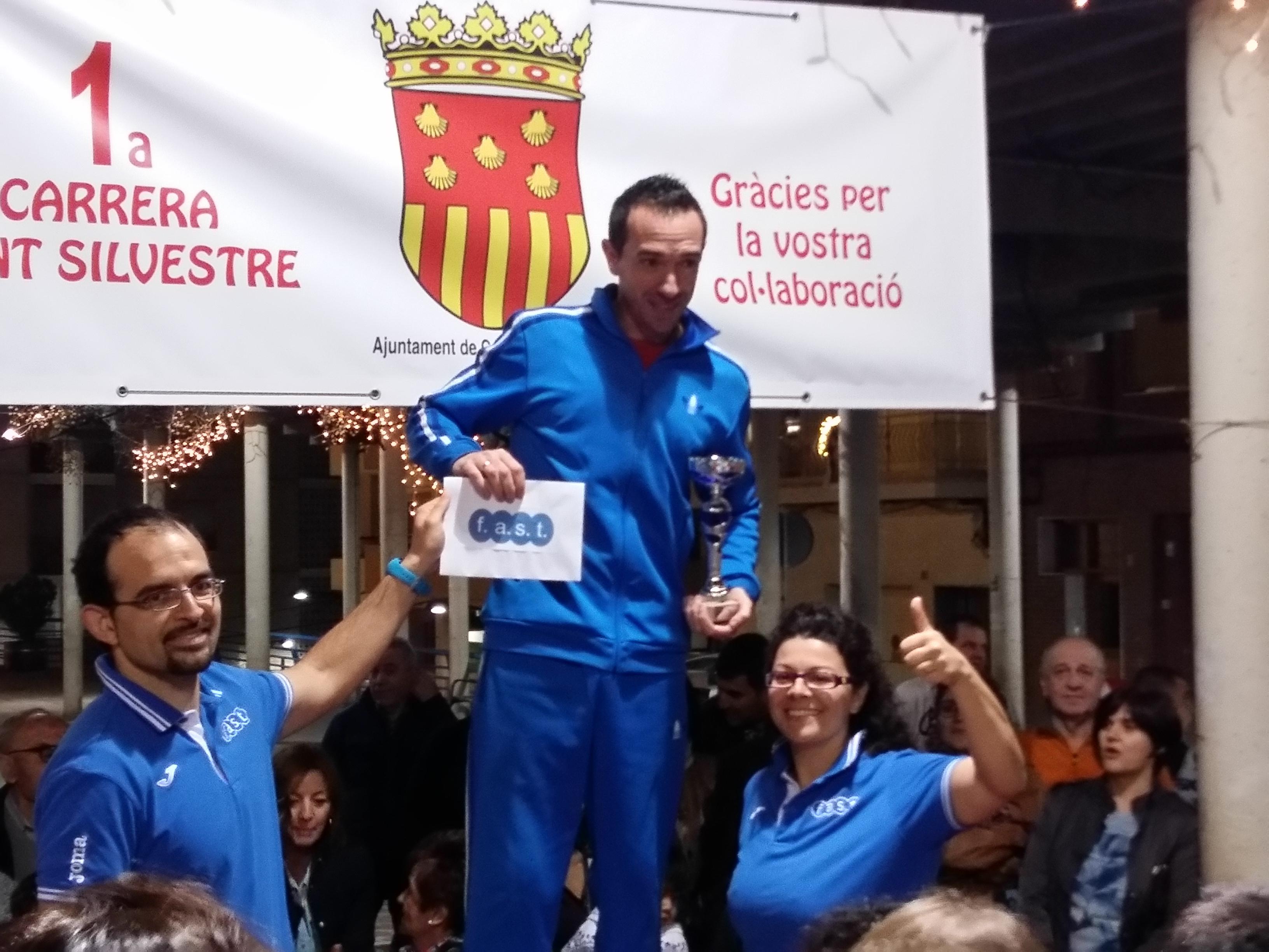 Ganador local San Silvestre Callosa Fast fitness