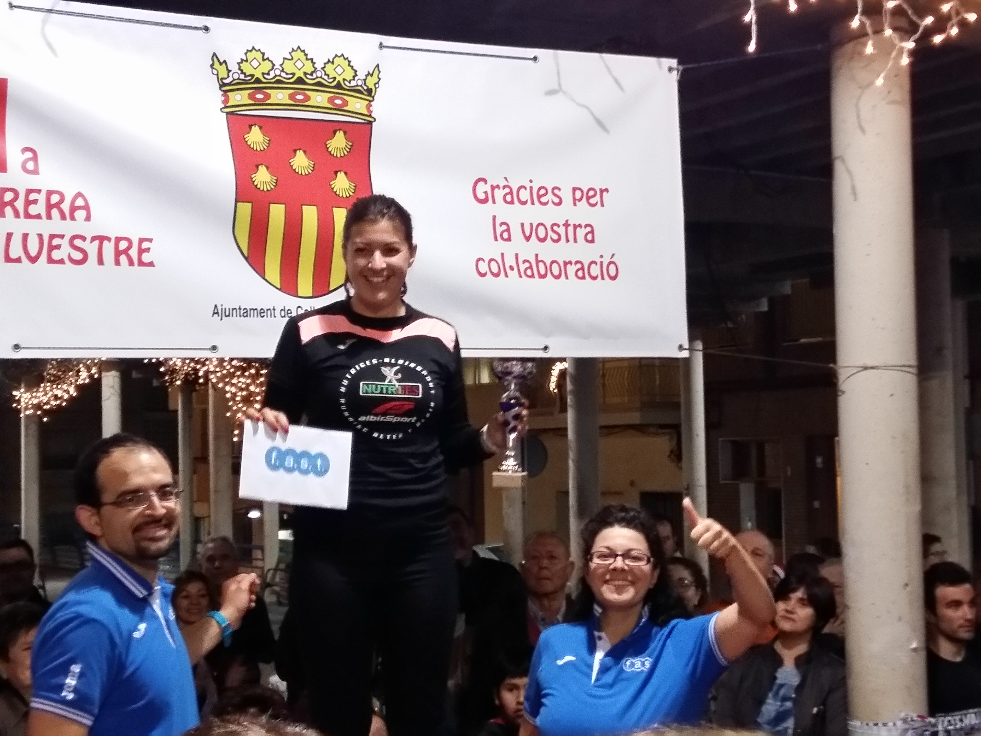 Ganadora local San Silvestre Callosa Fast fitness