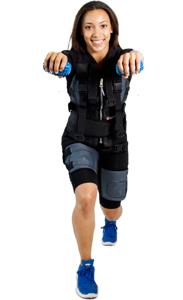 Trabajadora de rendimiento deportivo Fast Fitness