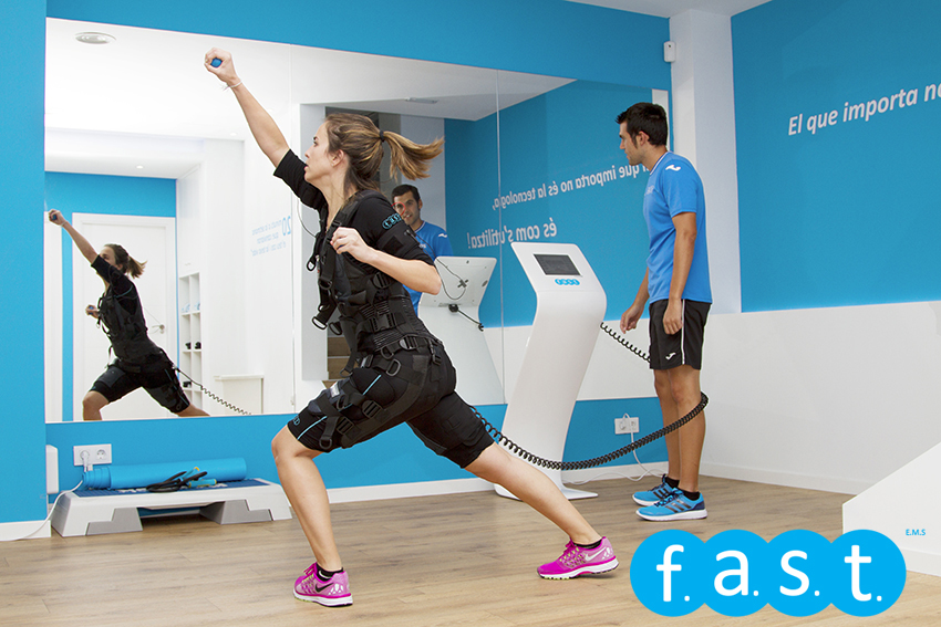 entrenamiento seguro con electroestimulacion Fast Fitness